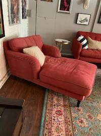 Ikea Couch Sofa Lounge Chaise