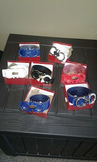 Name brand watches and belts for men. Harrah, 73045