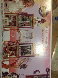 Brand new Ever after  castle dollhouse