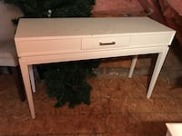 white wooden single-drawer console table Suffolk, 23435