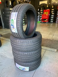 New 235/45r18 tires