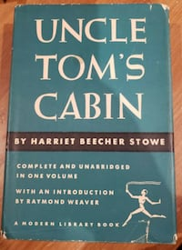 Uncle Tom's Cabin by Harriet Beecher Stowe A Modern Library Book