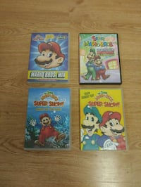 Vintage 1989 Super Mario dvds, only $5 each New Port Richey, 34652