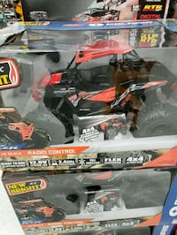 black and red RC truck with box BRAND NEW Houston, 77082