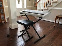 Casio Keyboard with stand and stool Chesapeake, 23323