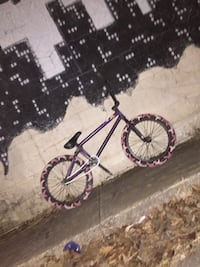 Purple and black mountain bike North Little Rock, 72118