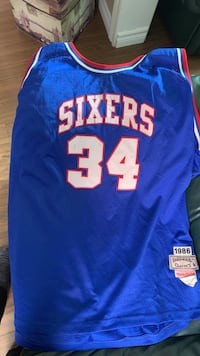 Charles Barkley Sixers Jersey Mississauga, L5R 3N8