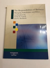 The Responsibilities of Business