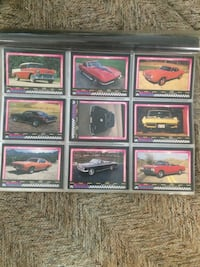 Muscle Cards complete set