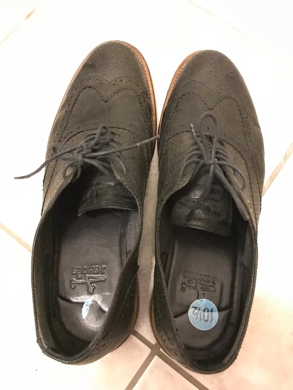 J Shoes Leather Oxford Shoes Size 10.5 c2037cc3-b696-4ae7-b4a4-399eade85fc8