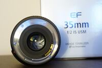 Canon EF 35mm F2.0 IS lens