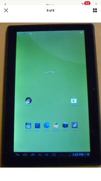 "ZEKI 10.1"" Dual-Core Wi-Fi Tablet TBDG1073B Tested Working"