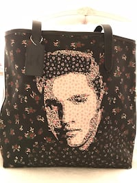 Coach Elvis Presley canvas and leather tote Fremont, 94536