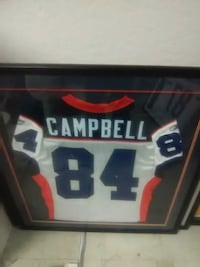 Autographed Campbell Jersey framed  Los Angeles, 90022