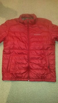 red Columbia bubble jacket Kingston, K7M 9E8