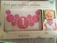 Baby's Months Necklace Stickers Brampton, L6S 2S6