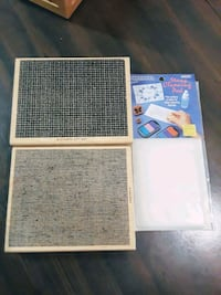 2 Large Background Stamps + Cleaning Pads Las Vegas, 89121