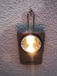 Linterna antigua PHILIPS, de petaca. Madrid
