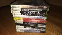 Assorted xbox 360 game cases Mount Prospect, 60056