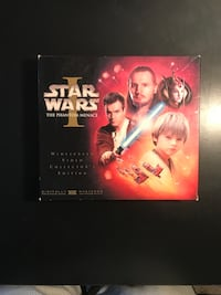 Star Wars Episode I The Phantom Menace VHS Collector's Edition