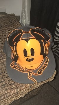 Grey and orange Mickey Mouse baseball cap size adult El Centro, 92243