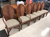6 Pencil Rattan Chairs  Holly Hill, 32117