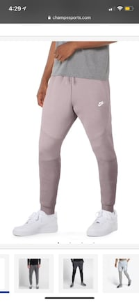 Full Nike Tech Fleece Set Jacket (S) and jogger (M) Los Angeles, 91601
