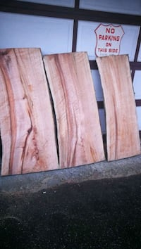 Beautiful Maple slabs 3 in thick