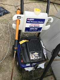 blue and gray Ryobi pressure washer Ronkonkoma, 11779