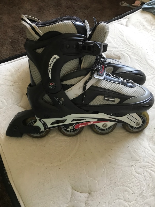 1f8327a3d Used pair of black-and-beige inline skates for sale in Stanton - letgo