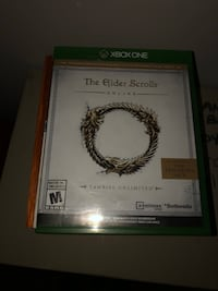 The Elder Scrolls V Skyrim Xbox 360 game case Edmonton, T6L 5P4