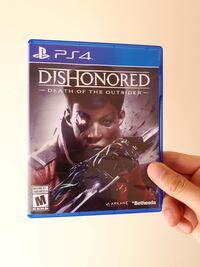 Dishonored: Death of the Outsider, PS4