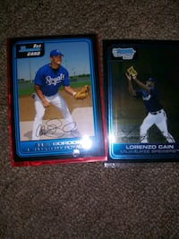 Cain and gordan royal blue rookies