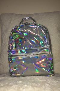 Mini Holographic Backpack  New York, 11223