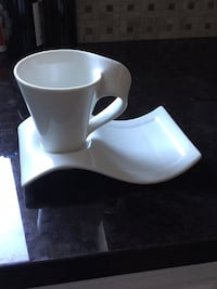 3 sets of cup and saucers  Toronto, M9A 4L9