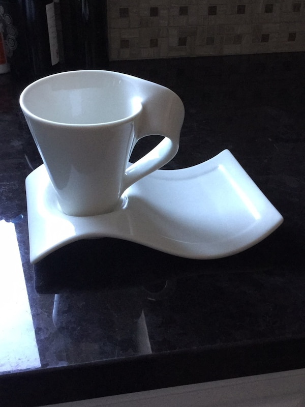 3 sets of cup and saucers