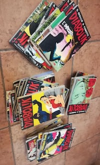 Stock fumetti Diabolik (40 volumi)  Grottaferrata, 00046
