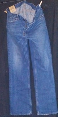 Men's Hollister button fly jeans