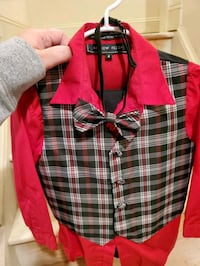 Size 4 Boys Christmas outfit  City of Manassas, 20112