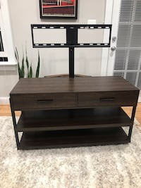Modern TV stand and wall mount Alexandria, 22314