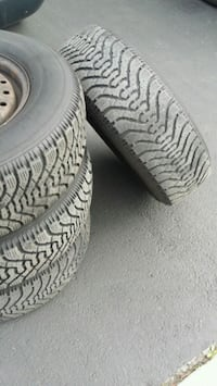 Good year Nordic  snow tires  and rims  Mississauga, L5W 0E2