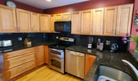 Kitchen cabinets and appliances