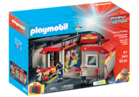 Playmobil City Action: Take Along Fire Station - 62 Pieces (5663) Toronto