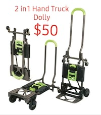 Hand Truck Dolly, 2 in 1, NEW IN BOX