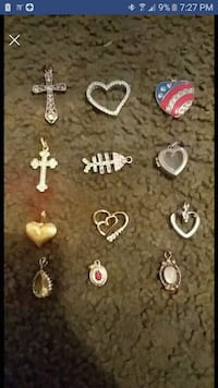 assorted necklace charms 10 for all Greeneville, 37743