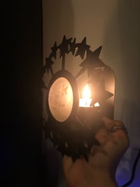 Wall Mounted Candle Holders- Moon and Stars Charlottesville, 22902