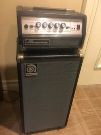 Ampeg MICRO-VR Bass Amplifier Half Stack with SVT MICRO-VR Head and SV San Antonio, 78234