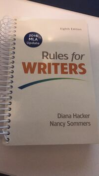 Rules for writers  Fairfax, 22031