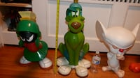 Rare Warner Bros. Statue Marvin the Martian K-9 Pinky and Tweety Collectible Toy 284 mi