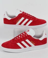red and blue adidas gazelle low-top sneakers Toronto, M6M 4J4